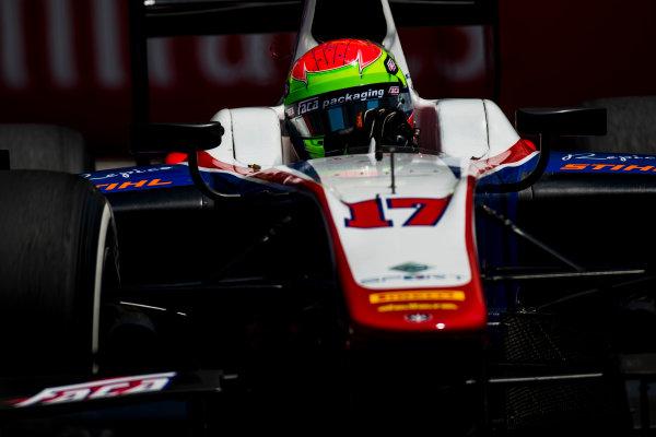 2017 FIA Formula 2 Round 4. Baku City Circuit, Baku, Azerbaijan. Friday 23 June 2017.Sergio Canamasas (ESP, Trident)  Photo: Zak Mauger/FIA Formula 2. ref: Digital Image _54I0358