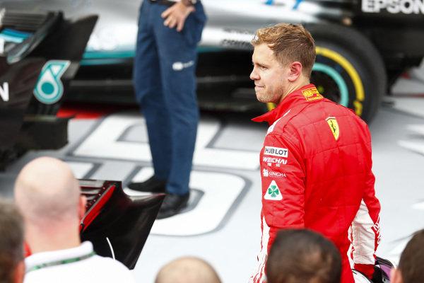 Sebastian Vettel, Ferrari, 3rd position,