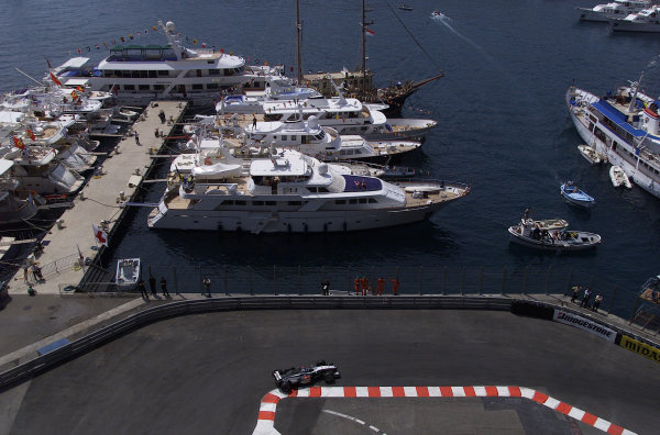 2000 Monaco Grand Prix.Monte Carlo, Monaco.1-4 June 2000.Mika Hakkinen (McLaren MP4/15 Mercedes) 6th position.World Copyright - LAT Photographic