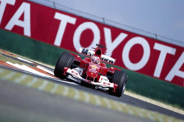 Rubens Barrichello, Ferrari F2004.