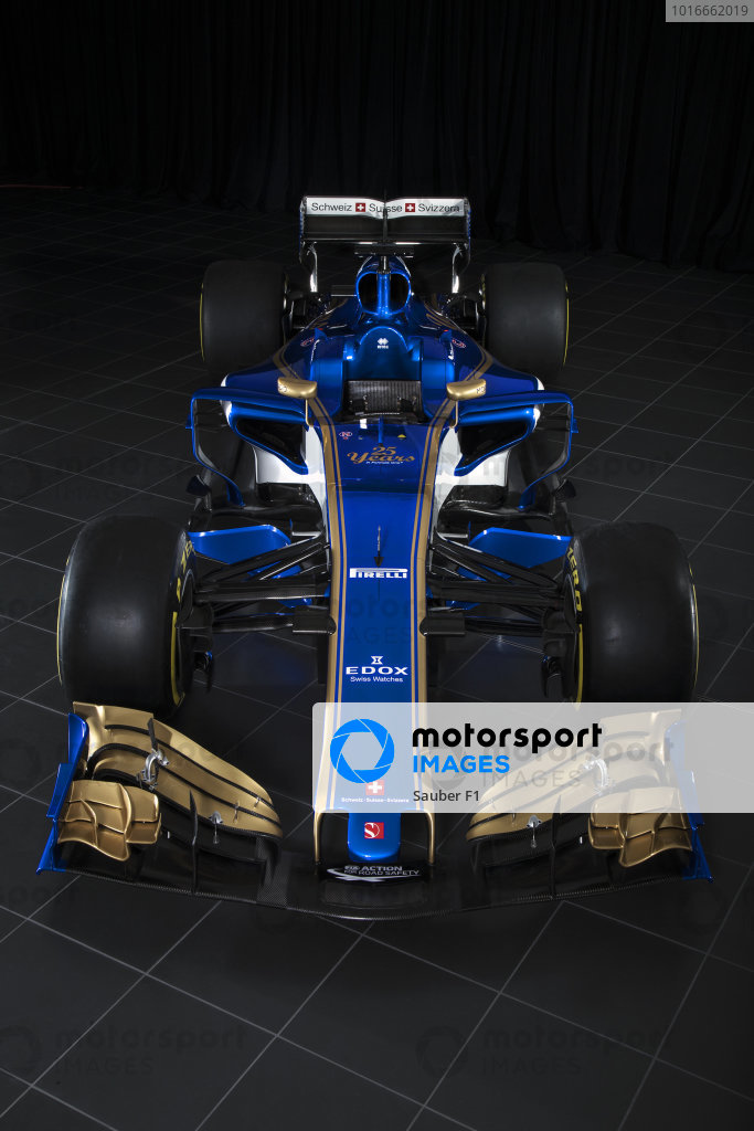 Sauber C36 Studio Images, Hinwil, Switzerland, 20 February 2017.