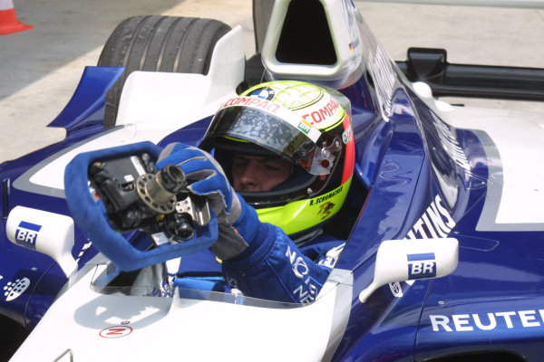 2001 Malaysian Grand Prix.Sepang, Kuala Lumpur, Malaysia. 16-18 March 2001.Ralf Schumacher (Williams BMW) 5th position.World Copyright - LAT Photographicref: 8 9MB DIGITAL IMAGE