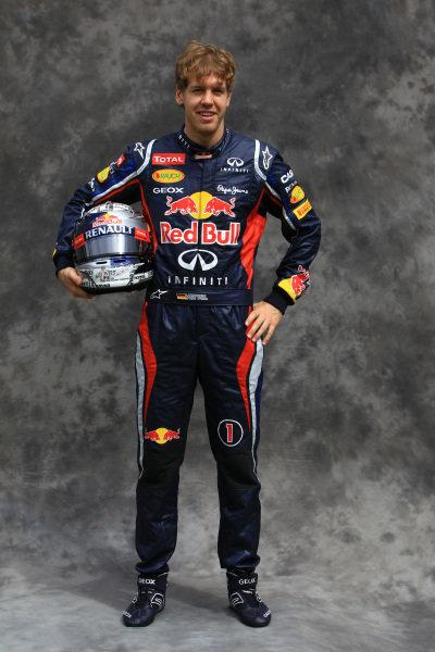 Sebastian Vettel (GER) Red Bull Racing. Formula One World Championship, Australian Grand Prix, Rd1, Preparations, Albert Park, Melbourne, Australia, Thursday 15 March 2012.