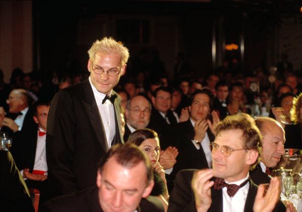1997 Autosport Awards.Grosvenor House Hotel, Park Lane, London. 7 December 1997. Jacques Villeneuve. World Copyright: LAT Photographic. ref: 35mm Transparency Image.