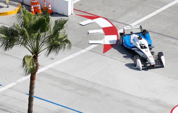 2014/2015 FIA Formula E Championship. Long Beach ePrix, Long Beach, California, United States of America. Friday 3 April 2015 Scott Speed (USA)/Andretti Autosport - Spark-Renault SRT_01E  Photo: Jed Leicester/LAT/Formula E ref: Digital Image _JL20233