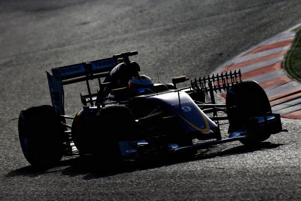 Circuit de Catalunya, Barcelona, Spain Tuesday 23 February 2016. Marcus Ericsson, Sauber C35 Ferrari.  World Copyright: Glenn Dunbar/LAT Photographic ref: Digital Image _89P4602