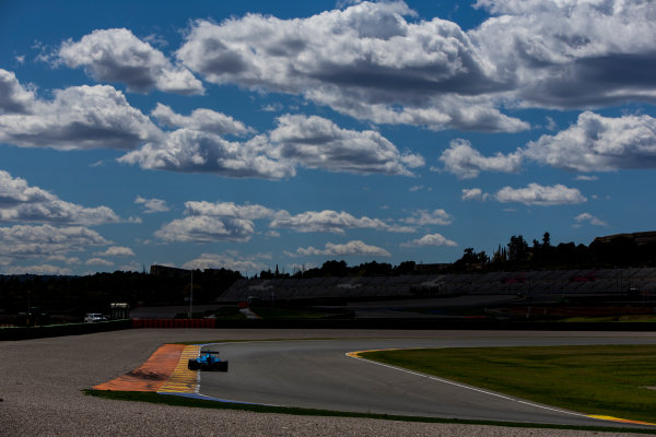 2016 GP3 Series Testing. Circuit Ricardo Tormo, Valencia, Spain. Friday 8 April 2016. Richard Gonda (SVK, Jenzer Motorsport). World Copyright: Zak Mauger/LAT Photographic. ref: Digital Image _L0U3586