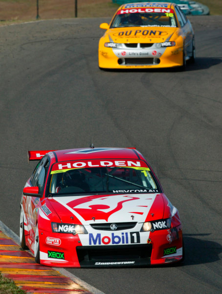 2003 Australian V8 SupercarsOran Park, Sydney, Australia. 17th August 2003.Holden driver Mark Skaife finished third in todays 300km race at Sydneys Oran Park. World Copyright: Mark Horsburgh/LAT Photographicref: Digital Image Only