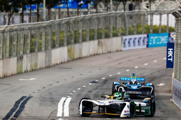 2017/2018 FIA Formula E Championship. Round 1 - Hong Kong, China. Saturday 02 December 2017. Lucas Di Grassi (BRA), Audi Sport ABT Schaeffler, Audi e-tron FE04. Photo: Sam Bloxham/LAT/Formula E ref: Digital Image _J6I4052