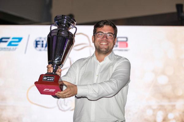 2017 Awards Evening. Yas Marina Circuit, Abu Dhabi, United Arab Emirates. Sunday 26 November 2017.  Photo: Zak Mauger/FIA Formula 2/GP3 Series. ref: Digital Image _56I3725