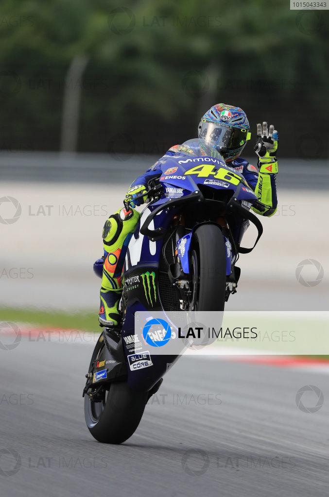 2018 MotoGP Championship - Sepang test, Malaysia Tuesday 30 January 2018 Valentino Rossi, Yamaha Factory Racing World Copyright: Gold and Goose / LAT Images ref: Digital Image 1130