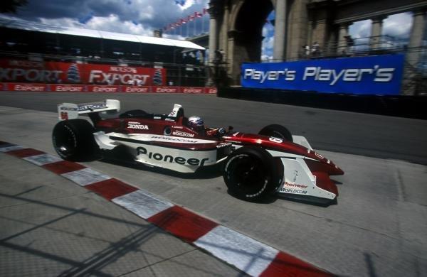 Alex Zanardi (ITA) Mo Nunn RacingCART World Series, Toronto, Canada 15 July 2001BEST IMAGE