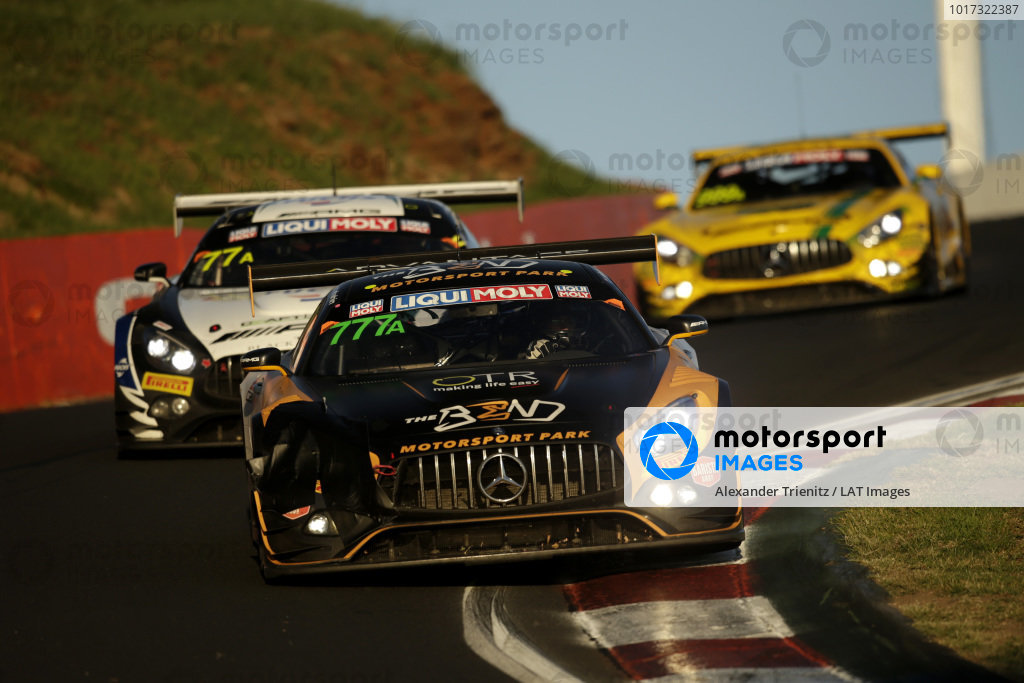 #777 The Bend Motorsport Park Mercedes AMG GT GT3: Yasser Shahin, David Reynolds, Luke Youlden.