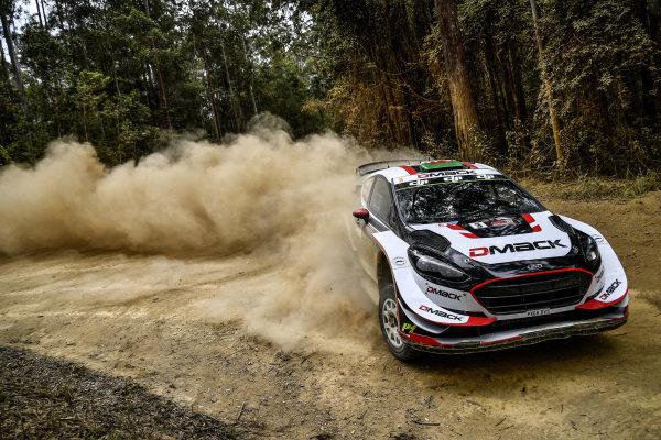 Elfyn Evans (GBR) / Daniel Barritt (GBR), M-Sport World Rally Team Ford Fiesta WRC at World Rally Championship, Rd13, Rally Australia, Day One, Coffs Harbour, New South Wales, Australia, 17 November 2017.