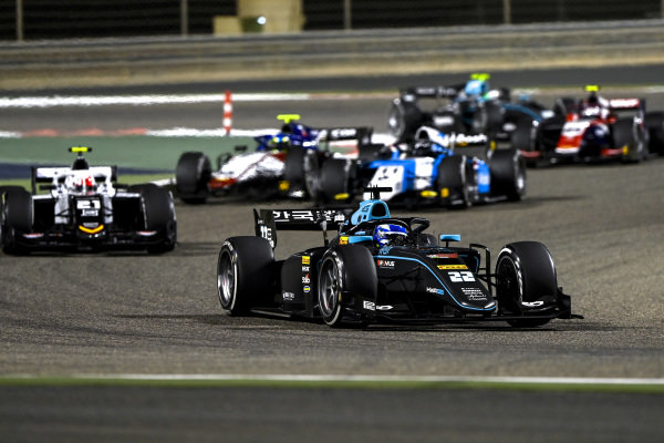Matteo Nannini (ITA, HWA Racelab), leads Ralph Boschung (CHE, Campos Racing), and Richard Verschoor (NLD, MP Motorsport)
