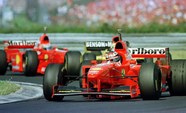1997 Hungarian Grand Prix.