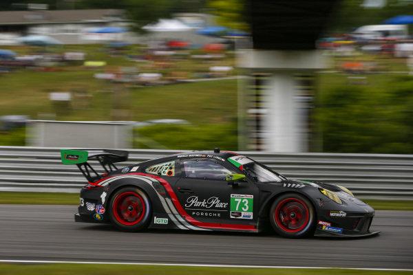 #73 Park Place Motorsports Porsche 911 GT3 R, GTD: Patrick Long, Marco Seefried