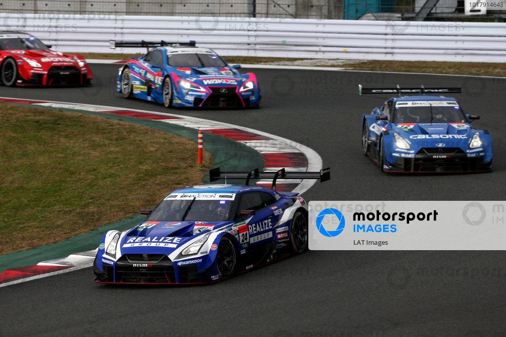Mitsunori Takaboshi, Kondo Racing Nissan GT-R NISMO GT500, James Rossiter, Team Impul Nissan GT-R NISMO GT500.