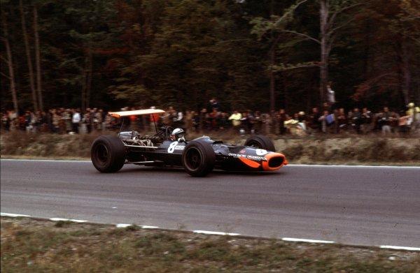 1968 United States Grand Prix.Watkins Glen, New York, USA.4-6 October 1968.Pedro Rodriguez (BRM P133).Ref-68 USA 59.World Copyright - LAT Photographic