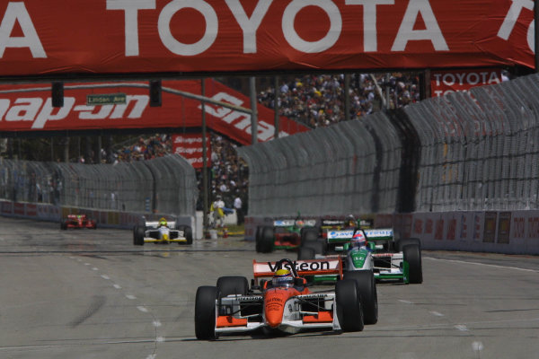 2001 CART Toyota Grand Prix of Long Beach, 6-8 April, 2001, Streets of Long Beach, CA, USAMoreno on the front straight-2001,Phil Abbott, USALAT Photographic