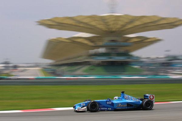 2001 Malaysian Grand Prix.Sepang, Kuala Lumpur, Malaysia.16-18 March 2001.Giancarlo Fisichella (Benetton B201 Renault).World Copyright - LAT PhotographicRef-8 9MB Digital