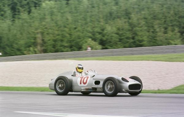 1998 Austrian Grand Prix.A1-Ring, Zeltweg, Austria.24-26 July 1998.Nick Heidfeld driving a Mercedes-Benz W196.World Copyright - Charles Coates/LAT Photographic