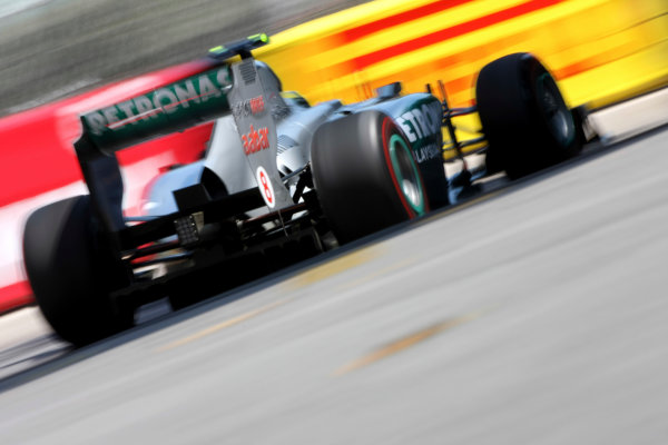 Monte Carlo, Monaco26th May 2011Nico Rosberg, Mercedes GP W02. Action. World Copyright: Andy Hone/LAT Photographicref: Digital Image CSD_3585