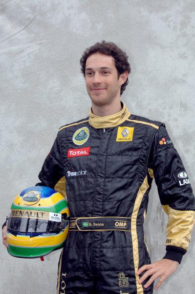 Albert Park, Melbourne, Australia24th March 2011.Bruno Senna, Lotus Renault GP R31.World Copyright: John Townsend/LAT Photographicref: Digital Image JTX_7164