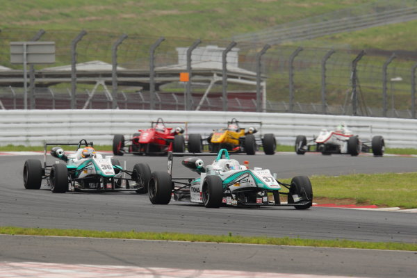 Fuji Speedway, Japan 13th - 14th July 2013.Rd 8 Winner  Takamoto Katsuata ( #37 PETRONAS TEAM TOM'S ) action World Copyright: Yasushi Ishihara/LAT Photographic Ref: Digital Image 2013JF3_Rd8&9_003