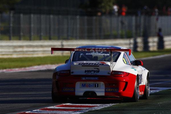 Kuba Giermaziak (POL) Verva Racing Team. Porsche Supercup, Rd 9, Monza, Italy, 10-12 September 2010.