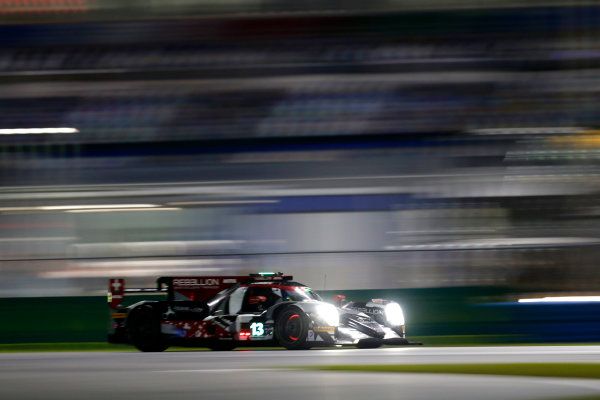 2017 Rolex 24 Hours. Daytona, Florida, USA Thursday 26 January 2017. #13 Rebellion Racing ORECA 07: Neel Jani, S?bastien Buemi, St?phane Sarrazin, Nick Heidfeld World Copyright: Alexander Trienitz/LAT Images ref: Digital Image 2017-24h-Daytona-AT1-1230