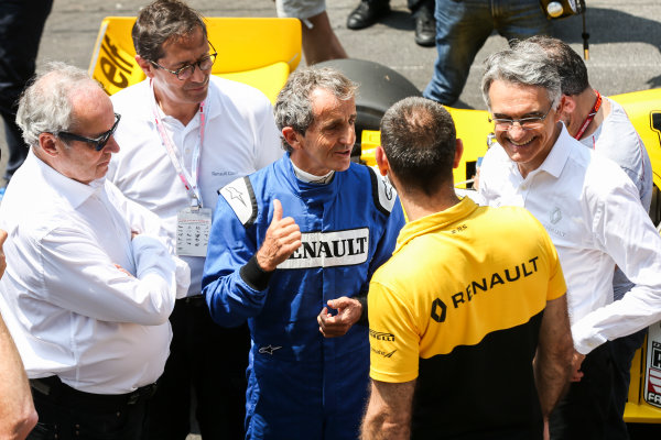 Monte Carlo, Monaco. Friday 26 May 2017. Alain Prost, Renault RE40. World Copyright: Charles Coates/LAT Images ref: Digital Image DJ5R7708