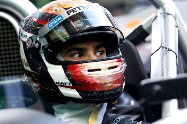2017 Race of Champions Miami, Florida, USA Friday 20 January 2017 Pascal Wehrlein  World Copyright: Alexander Trienitz/LAT Photographic ref: Digital Image 2017-24h-RoC-MIA-AT2-0146