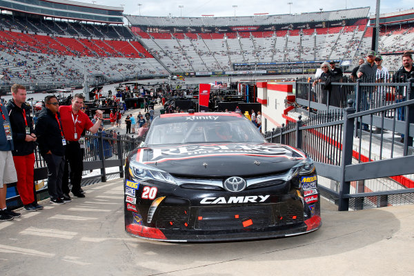 NASCAR Xfinity Series Fitzgerald Glider Kits 300 Bristol Motor Speedway, Bristol, TN USA Saturday 22 April 2017 Erik Jones, Reser's American Classic Toyota Camry World Copyright: Lesley Ann Miller LAT Images ref: Digital Image lam_170422BMS34821