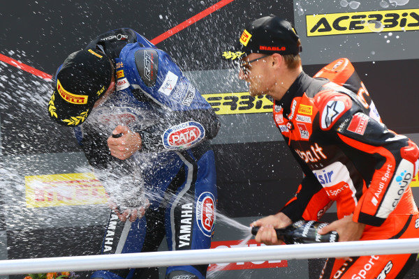 Alex Lowes, Pata Yamaha, Chaz Davies, Aruba.it Racing-Ducati SBK Team.