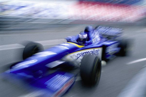 Olivier Panis, Ligier JS43 Mugen-Honda.