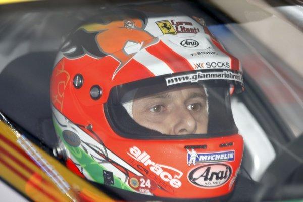 Gianmaria Bruni (ITA) AF Corse Ferrari F430 GT. FIA GT Championship, Rd3, Oschersleben, Germany, 21 June 2009.