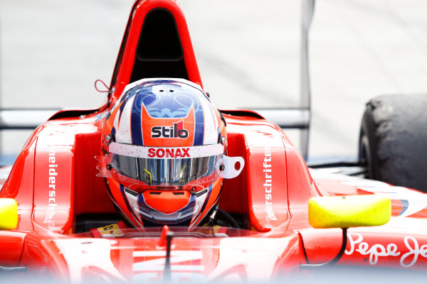 2014 GP3 Series Round 5. Hungaroring, Budapest, Hungary. Sunday 27 July 2014. Patric Niederhauser (SUI, Arden International)  Photo: Sam Bloxham/GP3 Series Media Service. ref: Digital Image _SBL8695