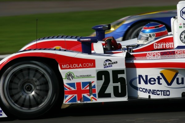 Mike Newton (GBR) RML MG Lola EX264 AER.Le Mans Series, Rd4, Donington Park, England, 28 August 2006.DIGITAL IMAGE
