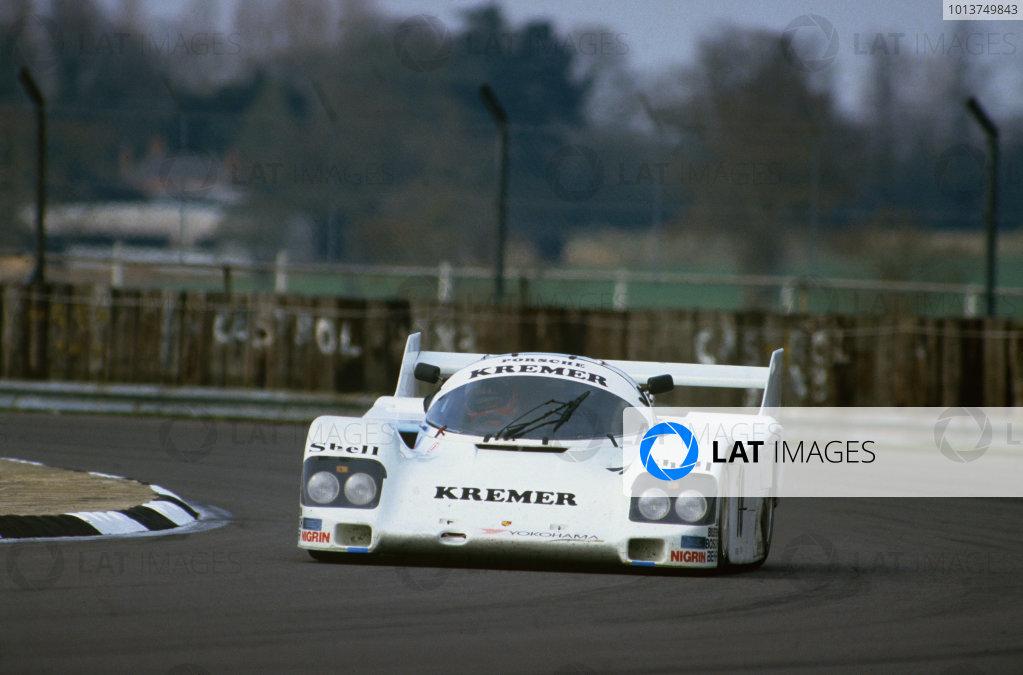 1986 Silverstone 1000 Kms.