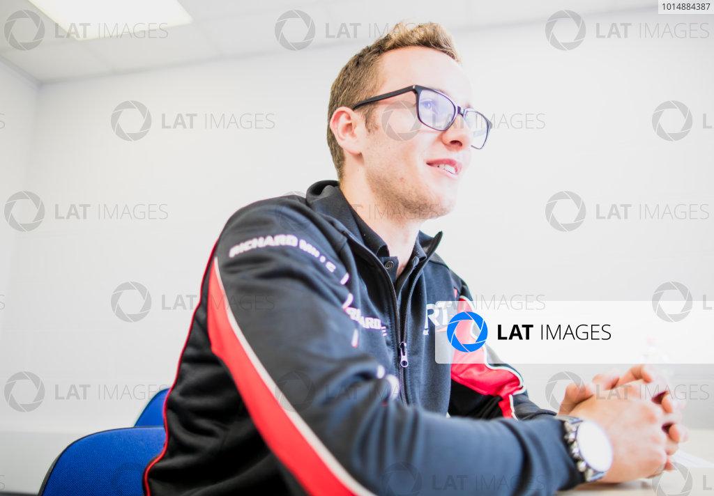 2017 GP3 Series Round 3.  Silverstone, Northamptonshire, UK. Thursday 13 July 2017. Anthoine Hubert (FRA, ART Grand Prix).  Photo: Zak Mauger/GP3 Series Media Service. ref: Digital Image _56I6505