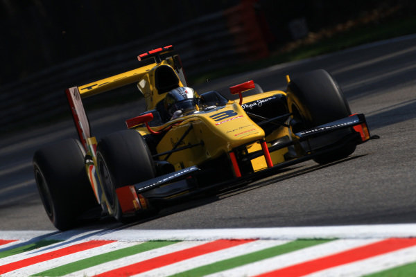 Davide Valsecchi (ITA) DAMS. GP2 Series, Rd11, Monza, Italy, 7-9 September 2012.