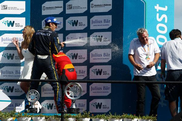 2014 Formula E  Punta Del Este e-Prix, Uruguay Saturday 13 December 2014. Sebastien Buemi (SWI)/E.dams Renault - Spark-Renault SRT_01E  Photo: Sam Bloxham/LAT/Formula E ref: Digital Image _G7C6188