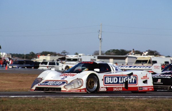 Davy Jones (USA) Jaguar XJR-12D, 2nd place.
