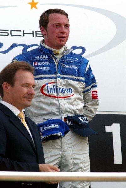 Frank Stippler (GER) Infineon - Team Farnbacher.Porsche Supercup, Rd8, Hockenheim, Germany,3 August 2003.DIGITAL IMAGE
