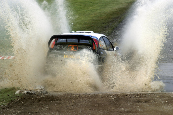 2003 FIA World Rally Champs. Round fourteen Wales Rally GB 6th-9th November 2003.Francois Duval, Ford, ActionWorld Copyright: McKlein/LAT