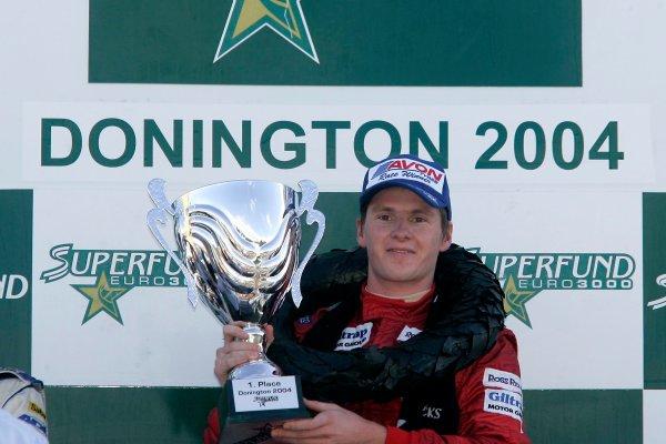 2004 Superfund Euro3000 ChampionshipJonathan Reid, NZL, John Village AutomotiveDonington Park 29th August 2004World Copyright Jakob Ebrey/LAT Photographic