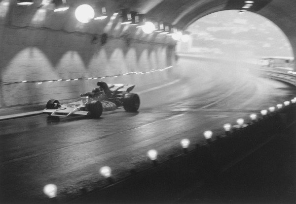 1972 Monaco Grand Prix.Monte Carlo. 14 May 1972.Jean-Pierre Beltoise (BRM P160B), 1st position, in the tunnel. Ref-4471 #28A.World Copyright - LAT Photographic