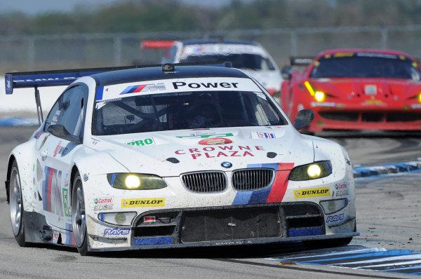 14-19 March 2011. Sebring, Florida USA#56  BMW Motorsport BMW M3 GT©2011 Dan R. Boyd LAT Photo USA