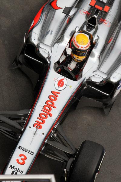 Race winner Lewis Hamilton (GBR) McLaren MP4/26 celebrates in parc ferme. Formula One World Championship, Rd 10, German Grand Prix, Race, Nurburgring, Germany, Sunday 24 July 2011.  BEST IMAGE